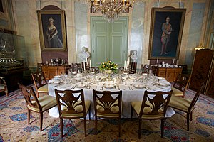 Huis Doorn - Dining room in 2013