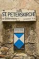 Ehem. Pfarrkirche in Döllersheim - Schild.jpg