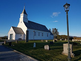Eid Church (Kvinnherad) Church in Vestland, Norway