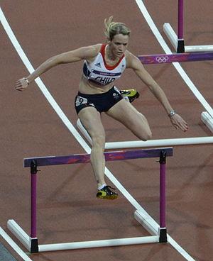 Eilidh Doyle - Doyle competing (as Eilidh Child) at the 2012 Summer Olympics