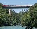 Eisenbahnbrücke Mellingen Reuss Mellingen AG - Wohlenschwil AG 20160808-jag9889.jpg
