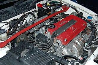 Honda B engine - B16B in a Honda Civic Type R