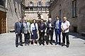 El vicepresident del Govern, Pere Aragonès, es reuneix amb una delegació d'eurodiputats de l'Aliança Lliure Europea 01.jpg