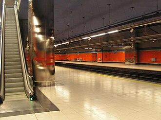 El Capricho (Madrid Metro) - Image: Elcapricho