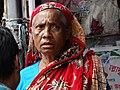 Elderly Woman - Along Buriganga River Embankment - Dhaka - Bangladesh (12831848294).jpg