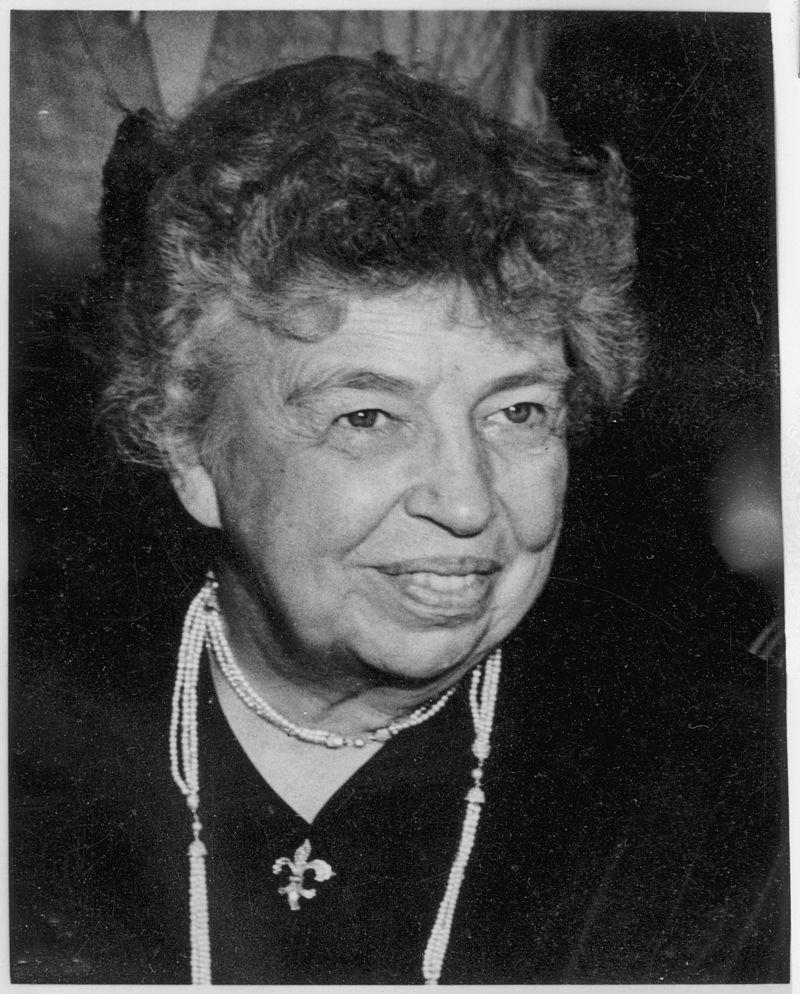 Eleanor Roosevelt at United Nations in Paris - NARA - 195965.jpg