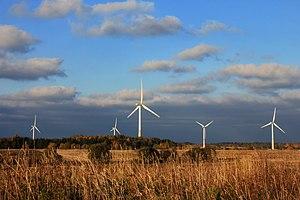 Aseri - Aseriaru wind farm in Estonia