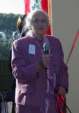 Elisabeth Murdoch (philanthropist) - Dame Elisabeth Murdoch, opening a drug rehabilitation centre in Melbourne, May 2005