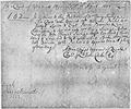 Elisha Cooke Legal Document April 17, 1683 - NARA - 192877.tif