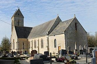 Ellon, Calvados - The church in Ellon