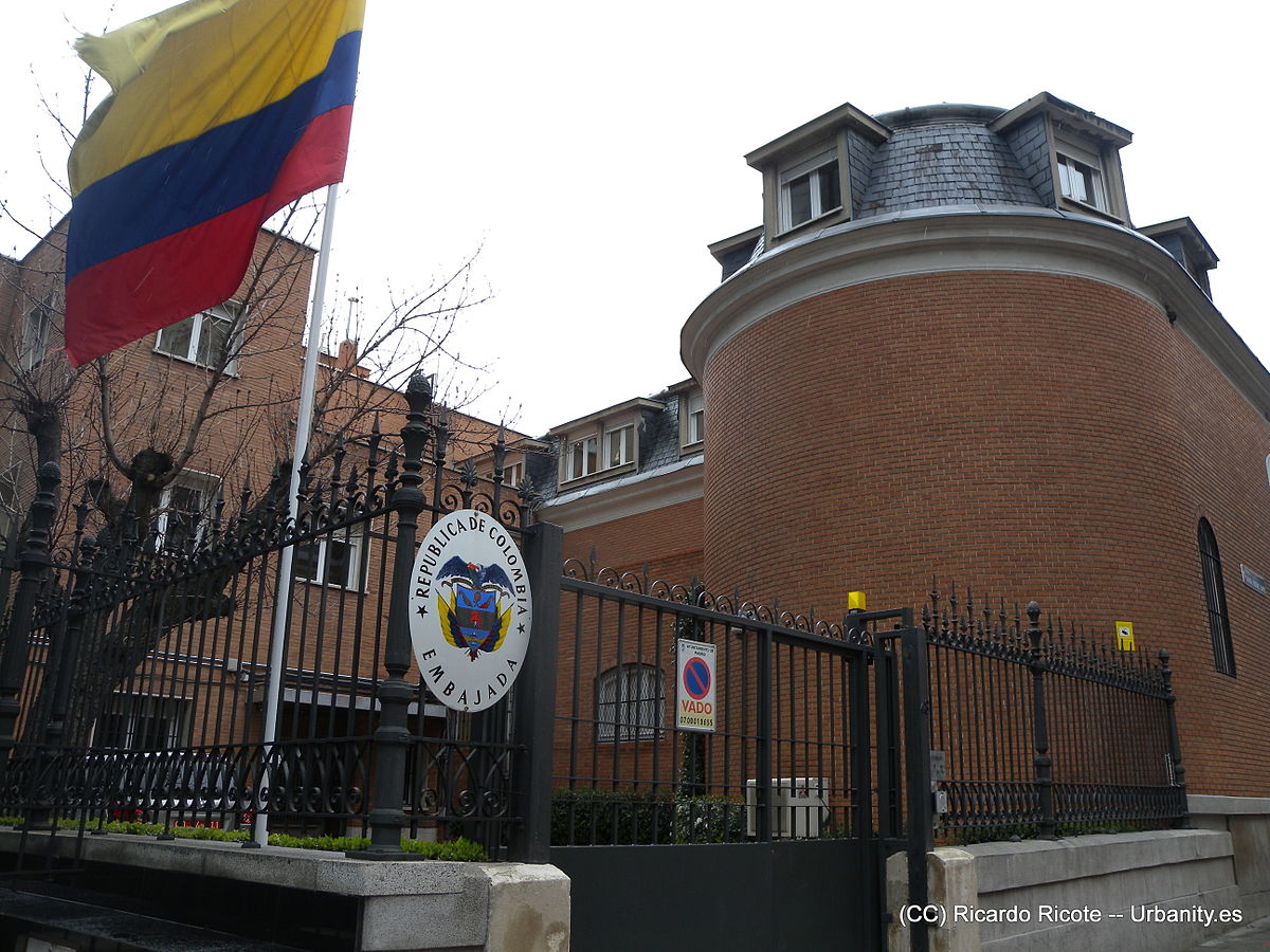Embassy Of Colombia, Madrid