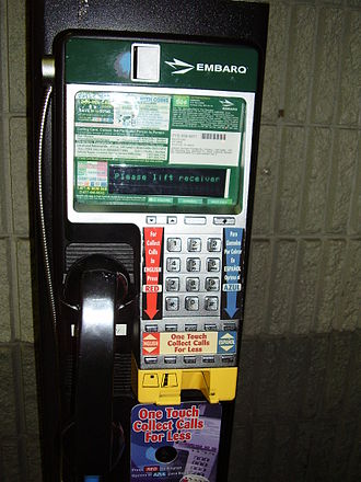 Embarq - Embarq pay phone
