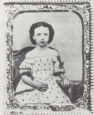 Emma Albani - Emma Albani at age 5