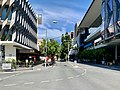 Empty Grey Street during the COVID-19 pandemic in Brisbane, Australia. ABC Brisbane Centre.jpg