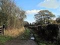 End of Lane in Haughton - geograph.org.uk - 1566703.jpg