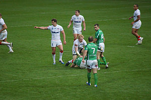 2013 Rugby League World Cup - England vs. Ireland, at the John Smith's Stadium, Huddersfield. England won 42–0