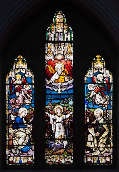 File:Enniskillen St. Michael's Church West Aisle Window 06 Holy Trinity and Holy Family 2012 09 17.jpg