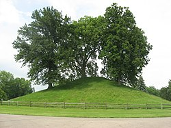 Side of the Enon Mound