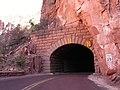 Entering tunnel on Zion Park Blvd - panoramio.jpg