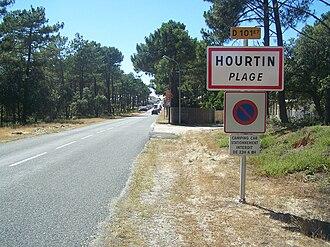 Hourtin - Image: Entrée Hourtin Plage