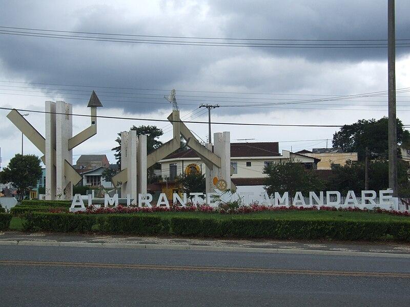 Ficheiro:Entrada da Cidade de Almirante Tamandaré.JPG