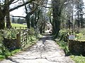 Entrance driveway, Shilstone - geograph.org.uk - 1248791.jpg