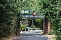 Epping Ongar Railway bridge at Coopersale, Essex, England 02.jpg