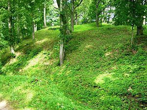 Eržvilkas - Eržvilkas mound