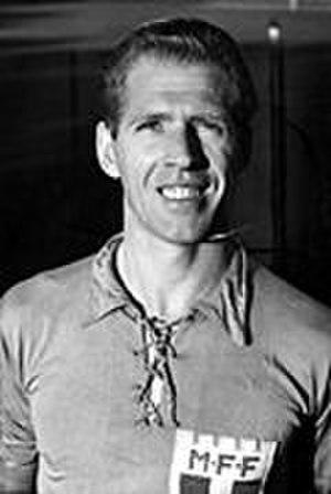 1949–50 Allsvenskan - Erik Nilsson (Malmö FF) - 1950 Guldbollen winner
