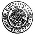 Escudo Nacional Mexicano en sello epoca Cardenista.png