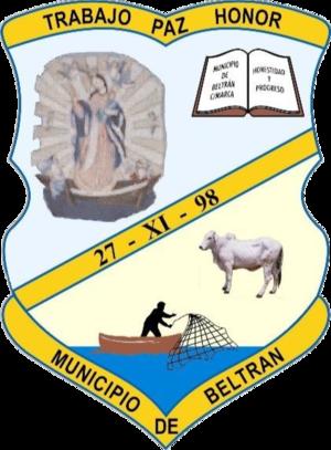 Beltrán, Cundinamarca - Image: Escudo mejorado de Beltrán