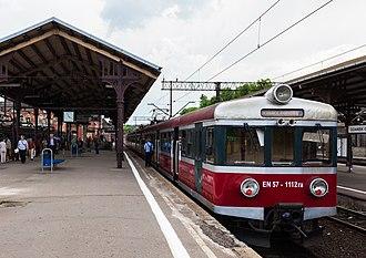 Gdańsk Główny railway station - Image: Estación de FFCC, Gdansk, Polonia, 2013 05 20, DD 16