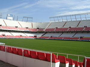 2009 Peace Cup - Image: Estadio Ramon Sanchez Pizjuan Sevilla FC
