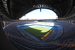 Santiago Bernabéu Stadium - Panoramic view of the stadium