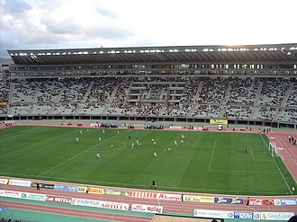 UD Las Palmas - View of Gran Canaria stadium.