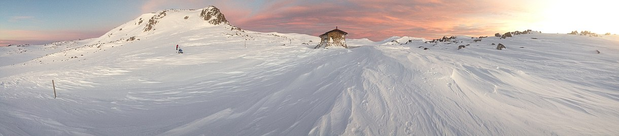 Winter at Etheridge Ridge in Kosciuszko National Park Etheridge Ridge.jpg