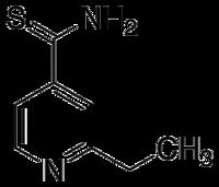 Struktur von Ethionamid