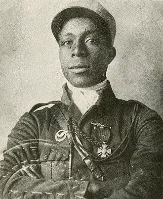 Eugene Bullard - Image: Eugene Bullard in Legionnaire Uniform