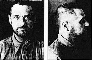 Eugeniusz Bodo - Eugeniusz Bodo after arrest by NKVD. Last photo