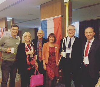 European Mentoring and Coaching Council - At the European Mentoring and Coaching Council International 2017 Conference in Edinburgh, Scotland