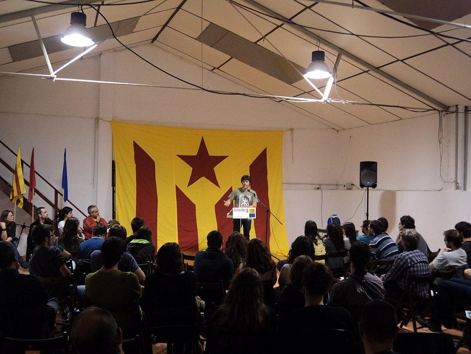 Event against European Union, 2014 (Harmonia del Palomar, Catalonia)