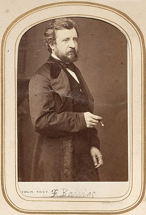 Félix-Joseph Barrias - Carte de visite portrait of the artist