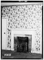 FIREPLACE IN OLD KITCHEN IN SERVANT HOUSE - Newsome-Minor House, 204 North Main Street, Tuscumbia, Colbert County, AL HABS ALA,17-TUSM,20-7.tif
