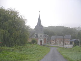 The church in La Férée