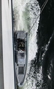 FSK training, alongside the ferry