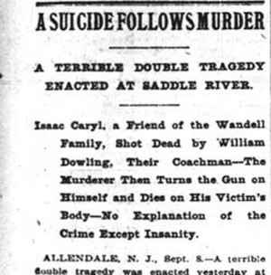 F. L. Wandell Estate and Ward Factory Site - New York Times September 9th 1896