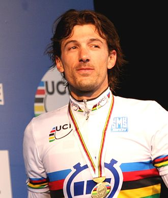 Fabian Cancellara - Cancellara at the 2010 UCI Road World Championships