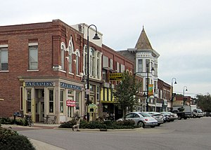 Fairfield, Iowa - Main Street