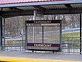 Fairmount inbound station sign.JPG