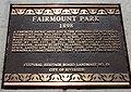 Fairmount park 9 landmark plaque.jpg
